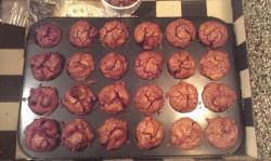 Rozijnen cranberry brownies