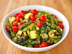 salade met french dressing